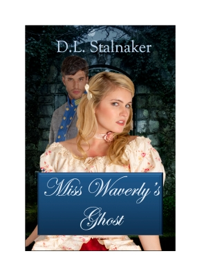 Book cover for Miss Waverly's Ghost