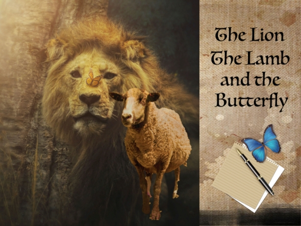 The Lion, Lamb, and Butterfly